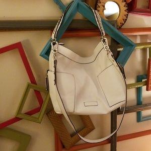 Steve madden bag white hobo slouch crossbody purse